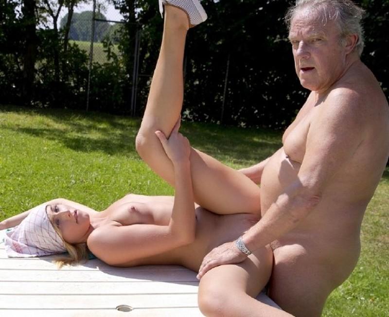 Aria Logan - Paunchy Daddy Sex
