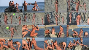 Candid-HD - Nudist Couple and Friends.