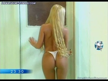 Sabrina Pettinato big round ass in thong damageinc videos