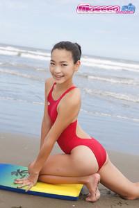 Miran Shimizu - Red Bikini - Hot JAV
