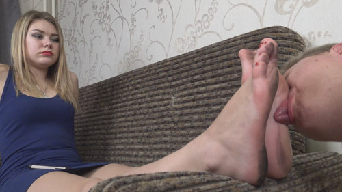 Barbara - clean my dirty feet! Full HD