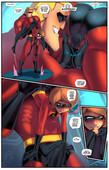 Fred Perry - Mrs Incredibutt - New the incredibles porn comic - 7 pages