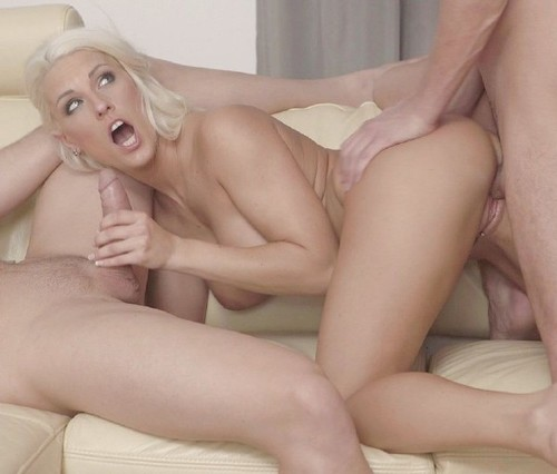 BangGlamkore - Blanche Bradburry - Blanche Bradburry Gives Dp Opportunity To Fiancee And His Boss