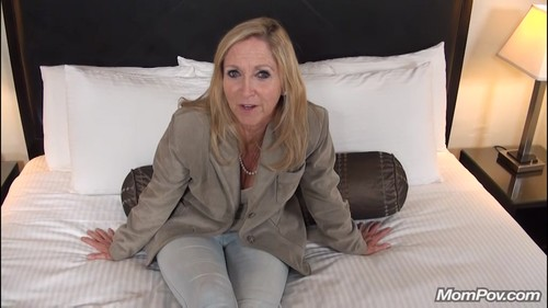 Mompov.com - Annabelle 56 year old granny I like to fuck reup
