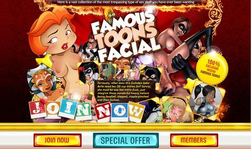 8x5a0o8gw44f - [SiteRip] [Famous-Toons-Facial.com] (117 cartoons) [Eng]