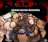 Shemale massive destruction by Tyroncarter14 Ongoing