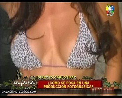 Valeria Archimaut big boobs close up