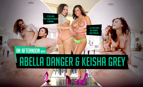 An Afternoon with Abella Danger & Keisha Grey - lifeselector,SuslikX