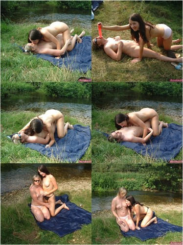 Something hot naked lesbians by lake sorry, that