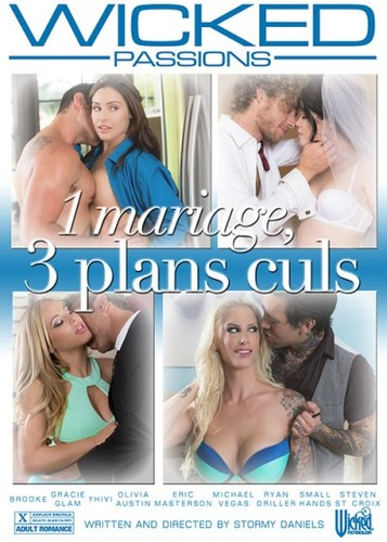 1 mariage, 3 plans culs