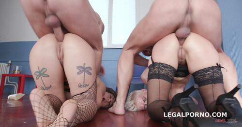 LegalPorno.com - Mila Milan, Betty Foxxx - Double addicted Milf Edition with Mila Milan and Betty Foxxx Balls Deep Anal / Squirt / DAP GIO549