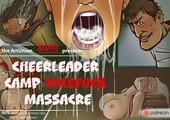 Adult comic by Disarten - Cheerleader Camp - Facefuck Massacre