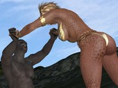 3d monster sex comic The Epic Aglaya - The Goddess Holy War