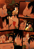 Updated comic by Sinnercomics - Sillygirl - Toph vs Ty Lee - Avatar The Last Airbender - 9 pages - Adult comic