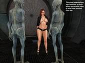 3d comic with alien Bunni - Space Sluts - Episode 4