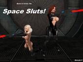 3d comic with alien Bunni - Space Sluts Part 5