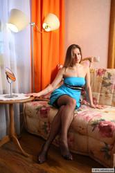 Adele - Blue dress