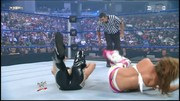 Mickie James (WWE Diva) thong slip @ wrestlingmatch
