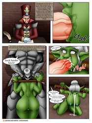Orc Mother and Daughter Rough Sex from Evil Rick