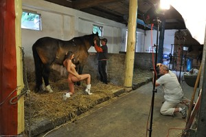 Lizzie Ryan - Backstage Of Amazone & Sexy Groom u6uvhtmoro.jpg