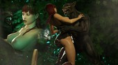 3DZen - Monster Sex Trilogy Chapter 2 - Little Red in 'Who's afraid of the Big Bad Wolf'